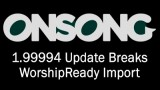 OnSong 1.99994 Import Issues